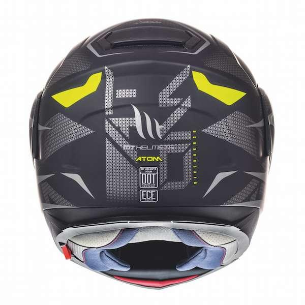 Mt Atom Sv Divergence Flip Up Motorcycle Motorbike Helmet Matt