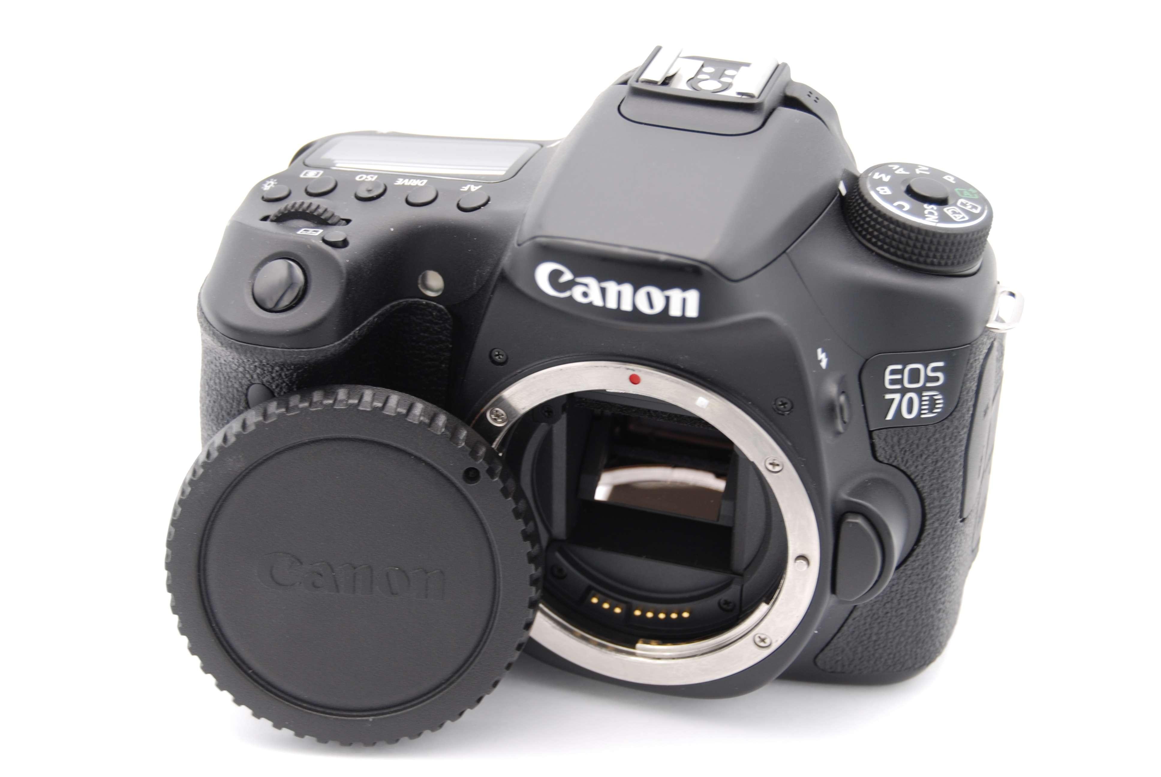 canon eos 70d 20 2 mp 3 39 39 screen digital slr camera body only 13803221596 ebay. Black Bedroom Furniture Sets. Home Design Ideas