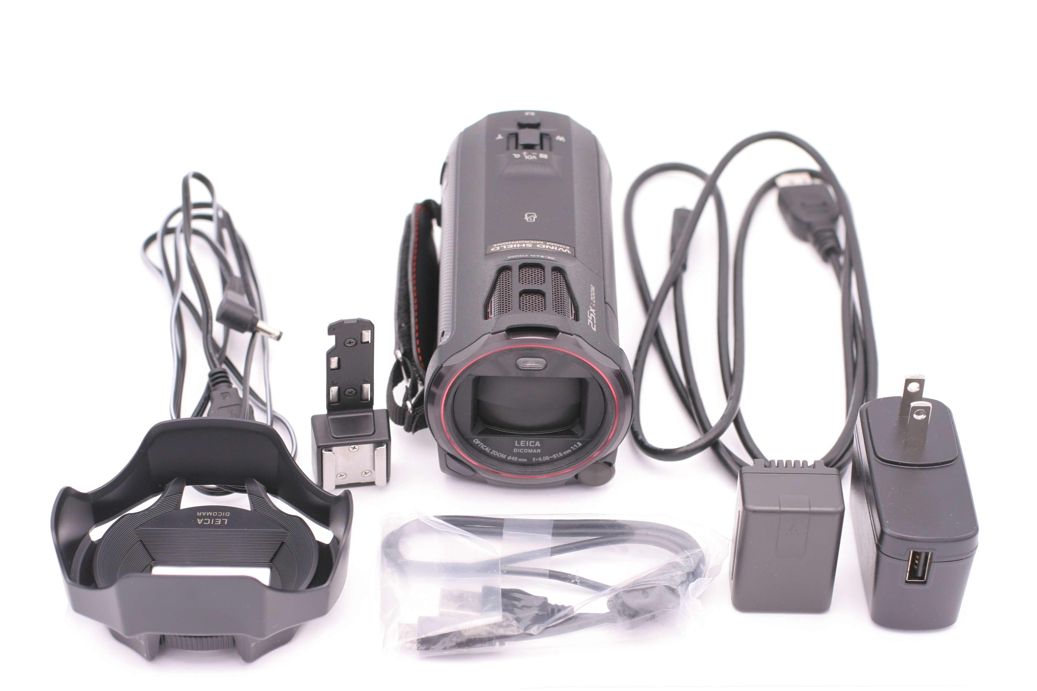 Panasonic Hc Vx870k 4k Ultra Hd Flash Memory Camcorder Wx970