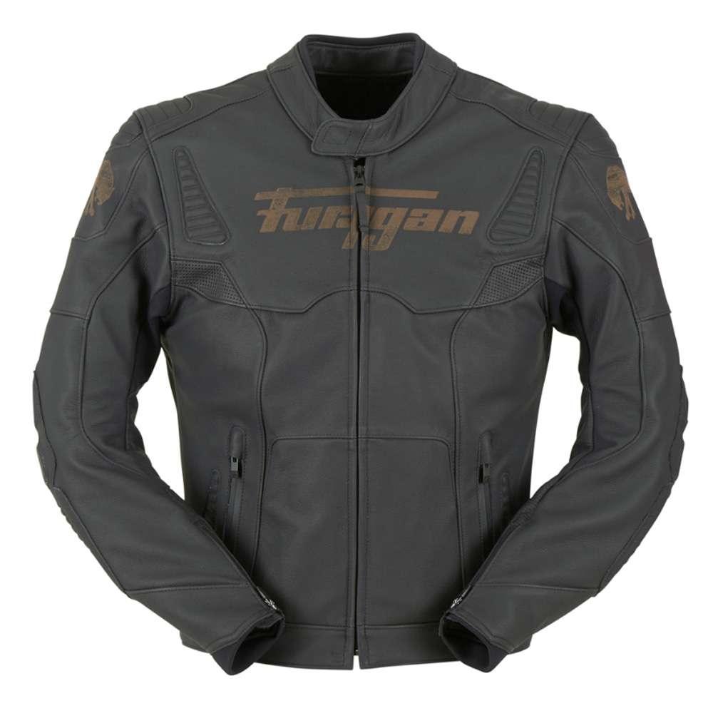 Veste cuir moto femme furygan