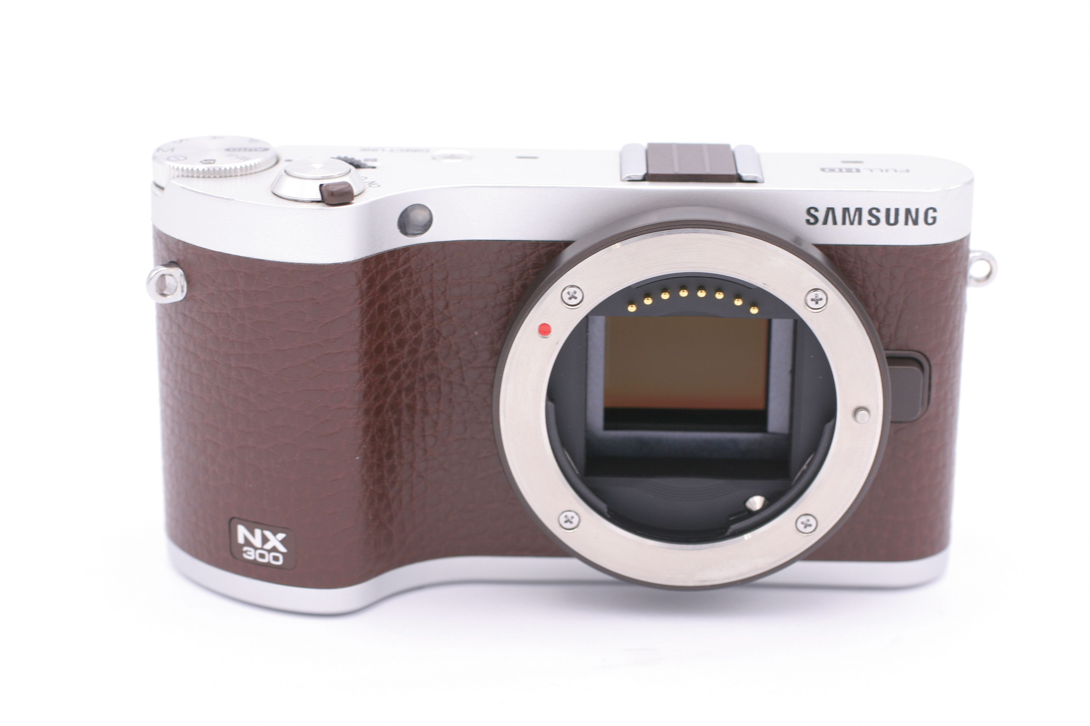 samsung nx nx300 20 3 mp digital camera brown body only. Black Bedroom Furniture Sets. Home Design Ideas