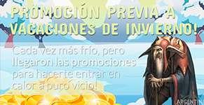 Promocion Previa a Vacaciones de Invierno de MU Coins!