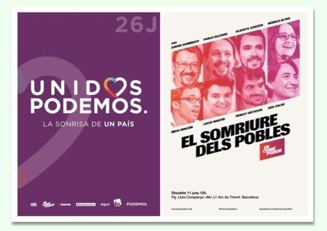 Cartells electorals Podemos