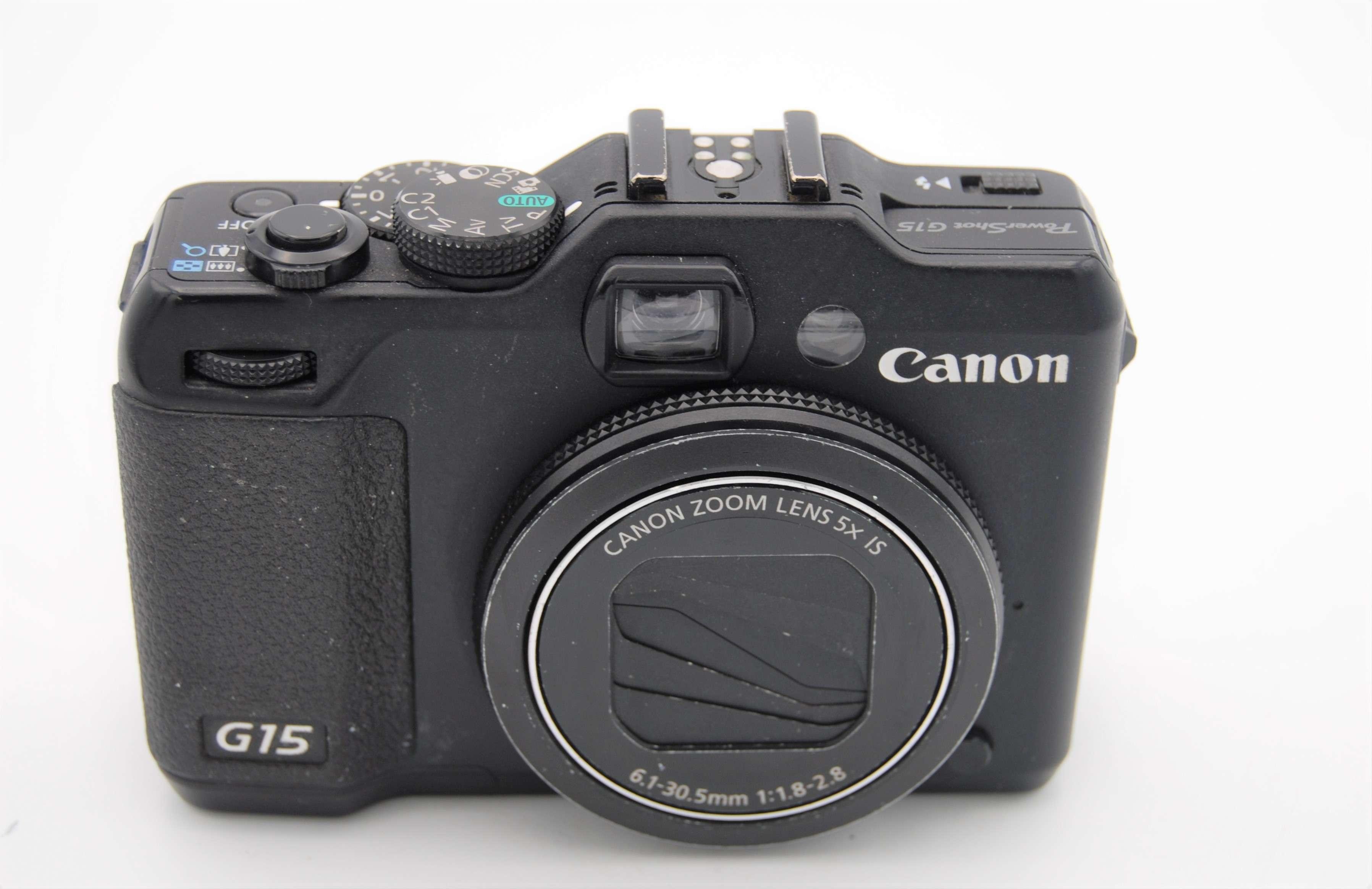 canon powershot g15 12 1mp digital camera black 13803156805 ebay. Black Bedroom Furniture Sets. Home Design Ideas