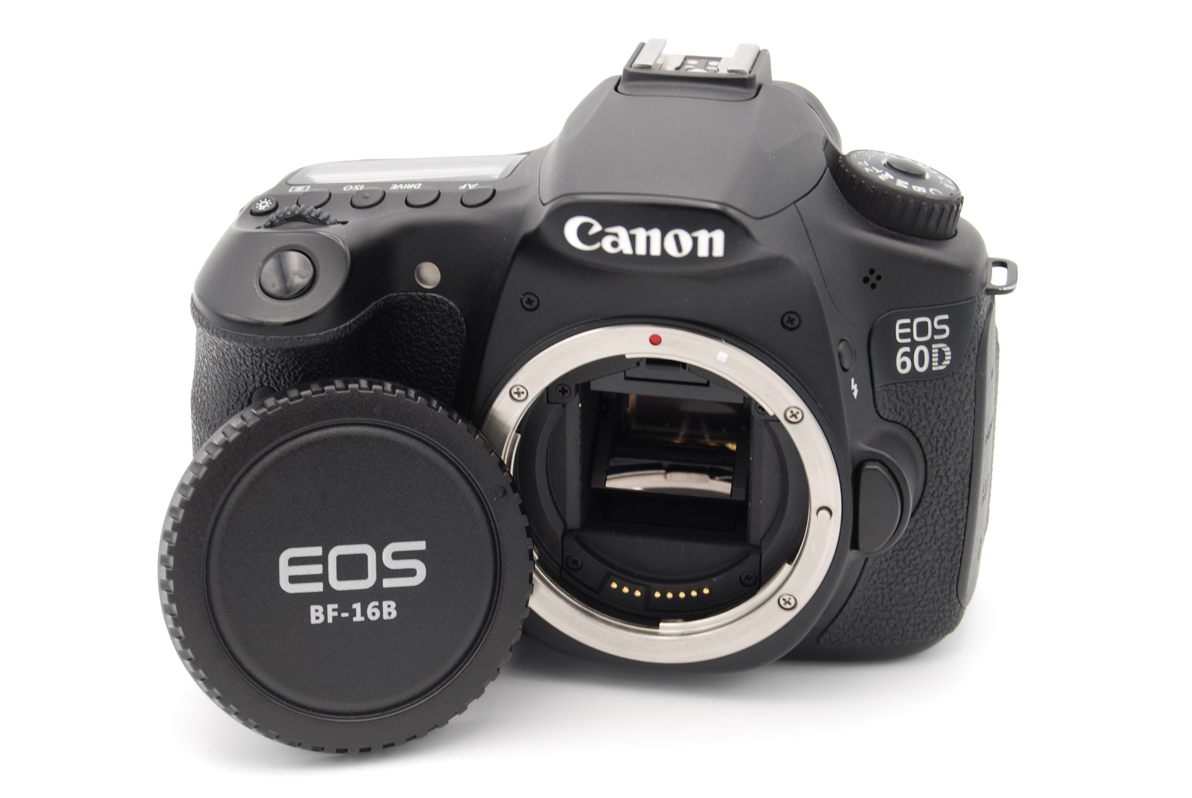 Canon eos 60d 18 0 mp digital slr camera black body only