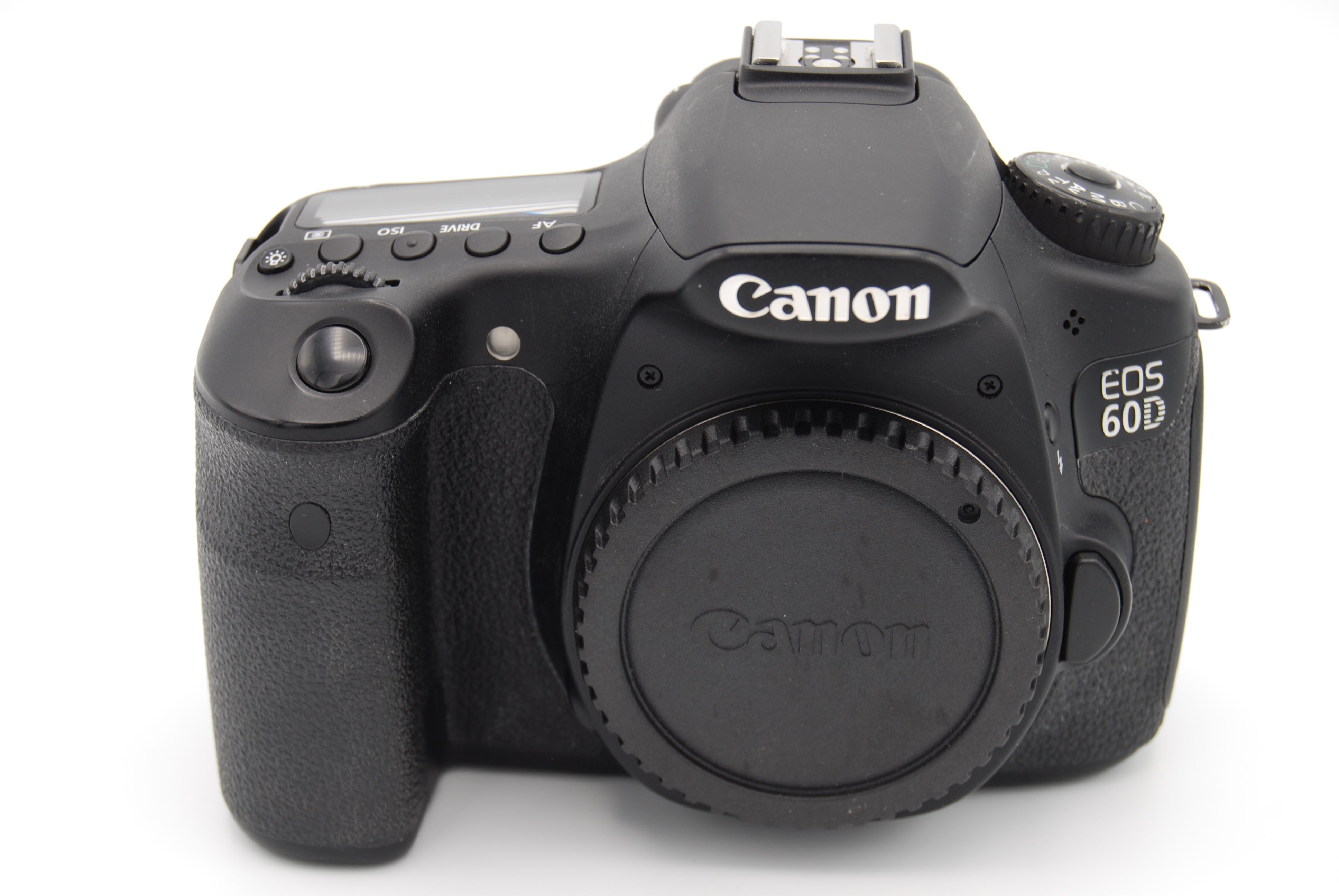 Canon eos 60d 18 0 mp 3screen digital slr camera black body only