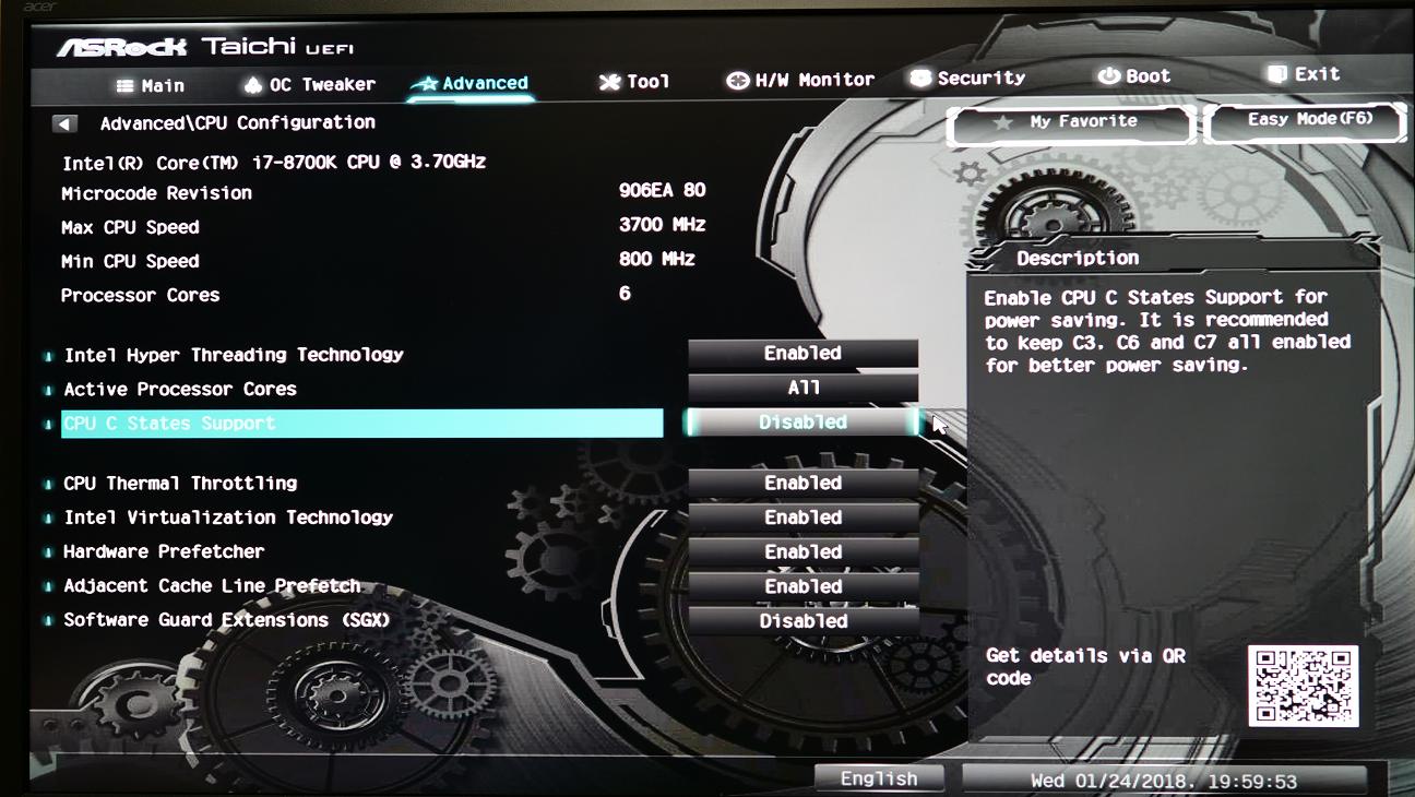 8700K build freezing, need some help | guru3D Forums