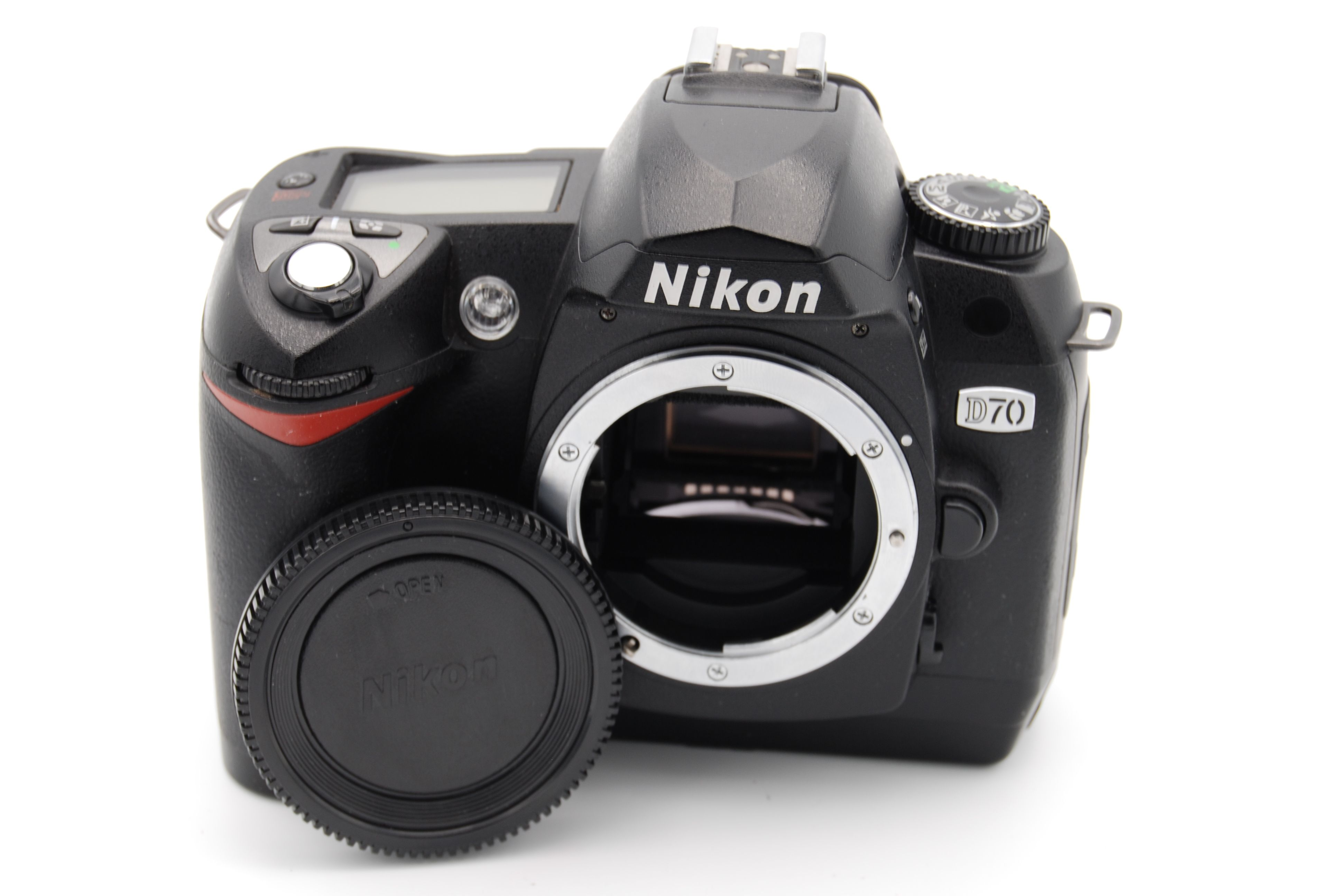 nikon d70 6 1mp 1 8 u2033 screen digital slr camera body only 18208252145 rh ebay com Nikon D70 Ir Nikon D70 Camera