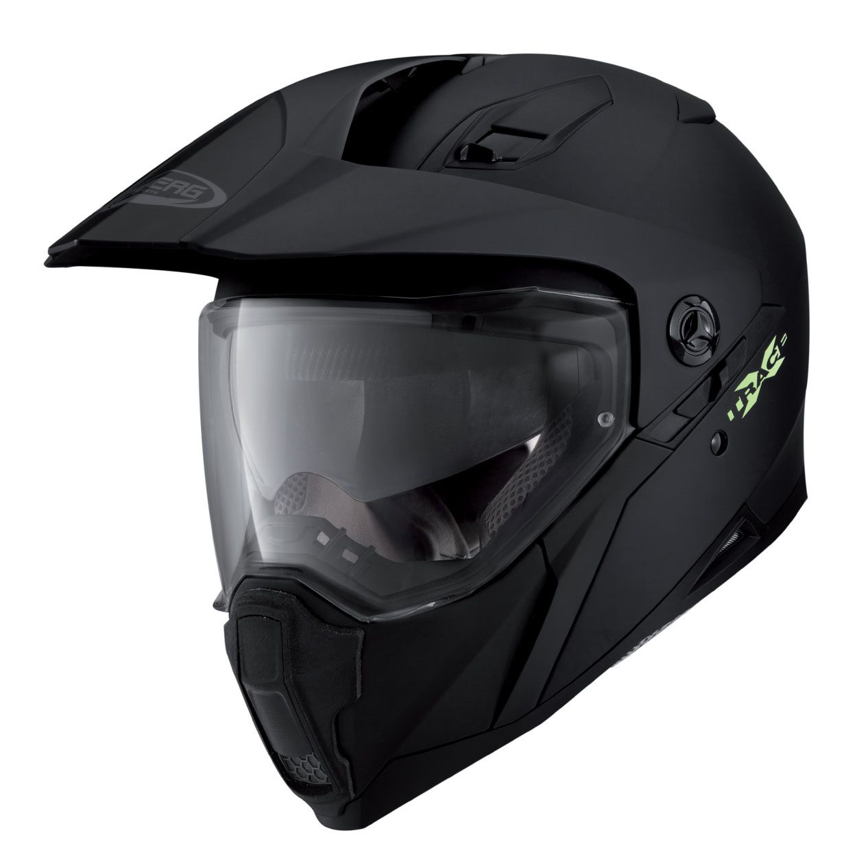 Black//Anthracite//Yellow M Caberg X-Trace Spark DVS Full Face Motorcyce Helmet