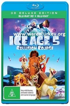 Buz Devri 5: Büyük Çarpışma - 2016 3D BluRay m1080p Half-SBS Türkçe Dublaj MKV indir