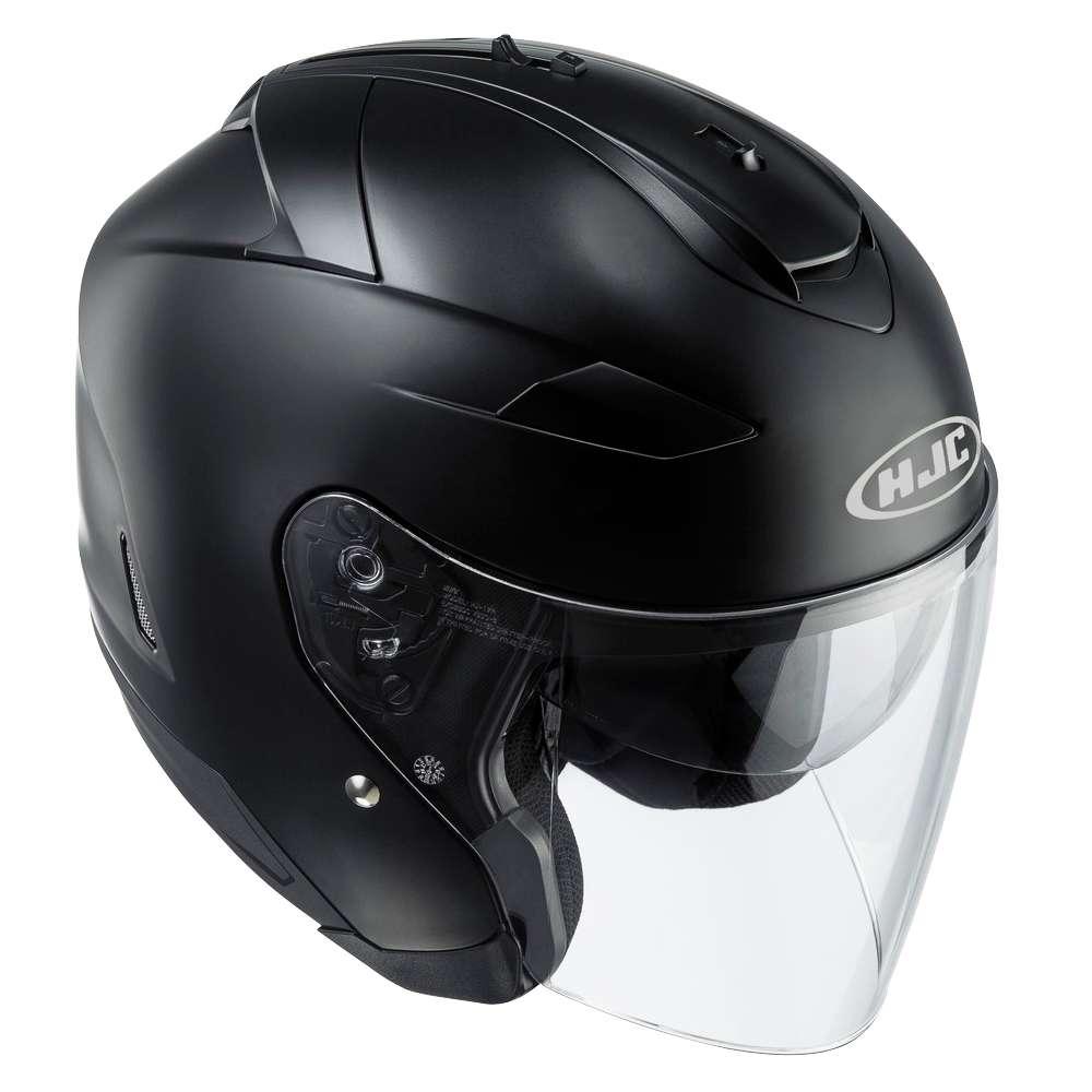 Hjc Is 33 Ii Casque Jet Moto Casque Moto Noir Mat Ebay