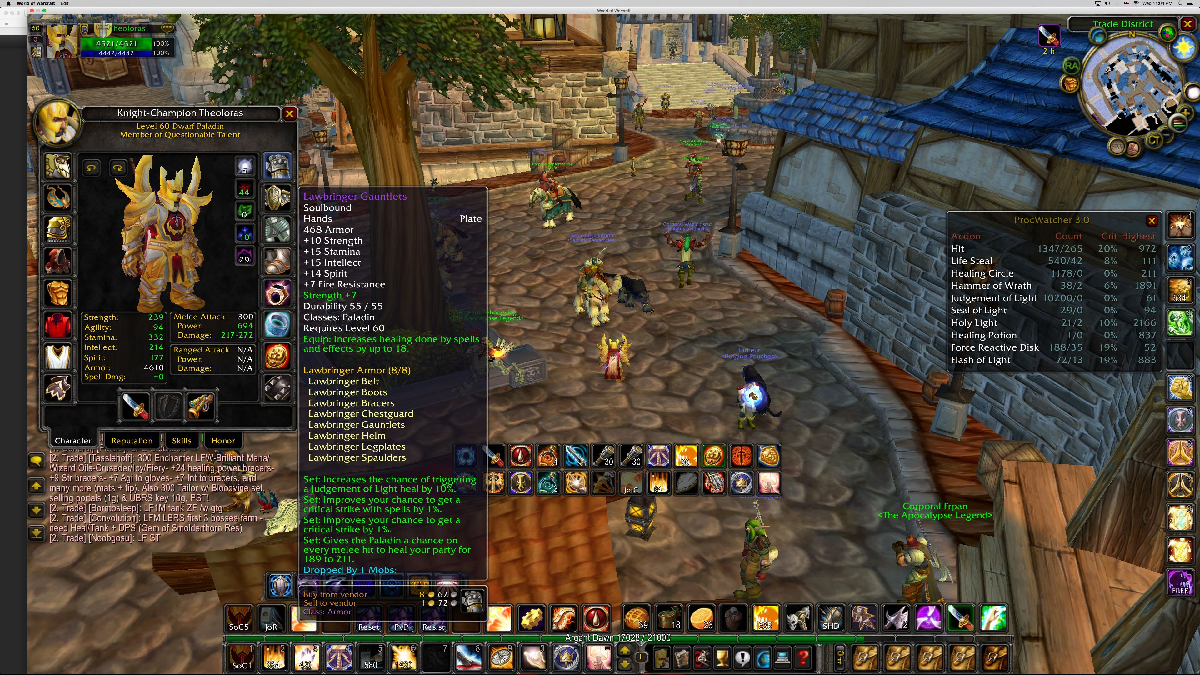 Prot Paladins don't need balancing - World of Warcraft Forums