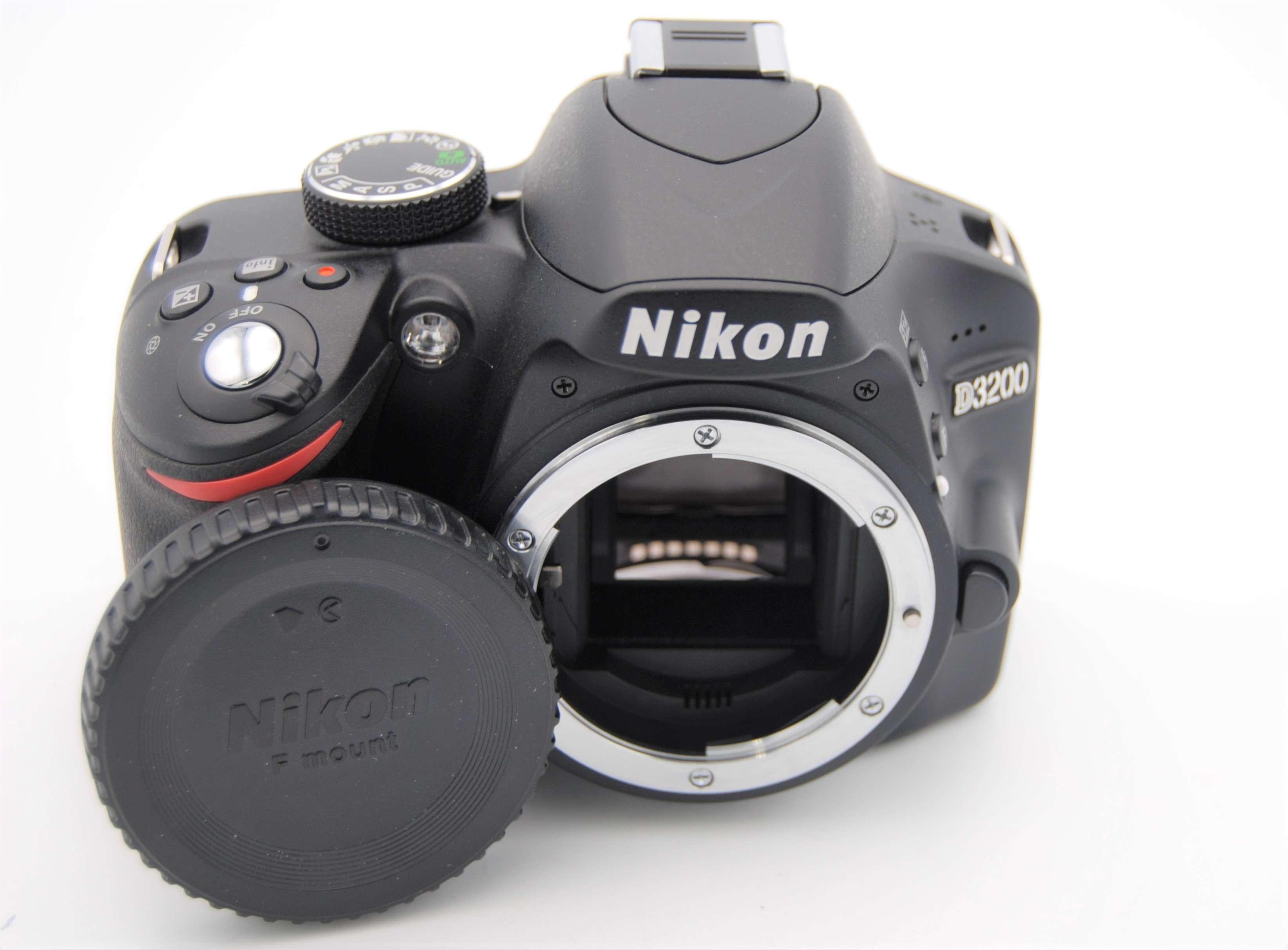 Details about NIKON D3200 24 2MP 3''Screen Digital SLR Camera - BODY