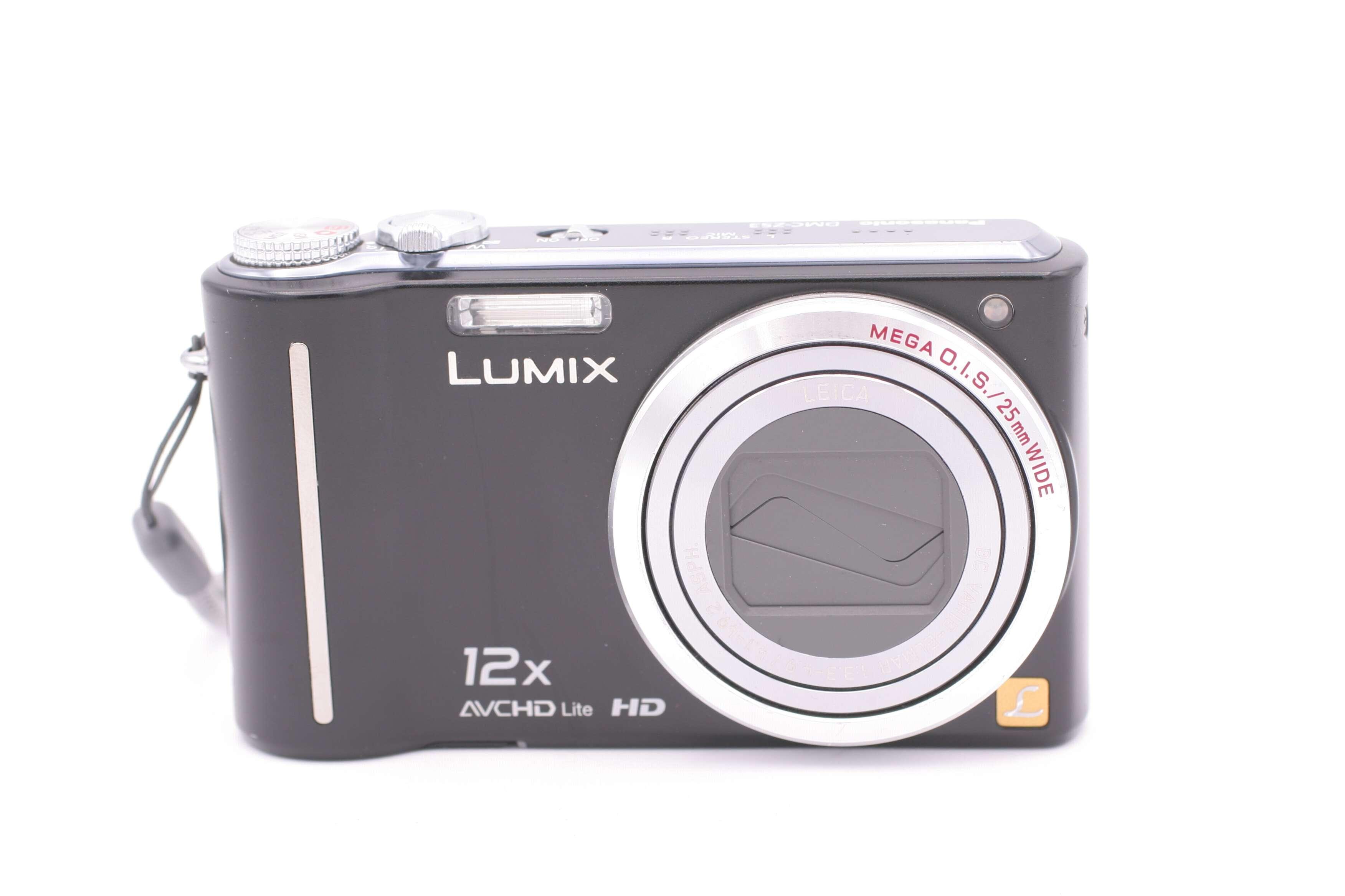 panasonic lumix dmc zs3 dmc tz7 10 1mp digital camera black rh ebay co uk