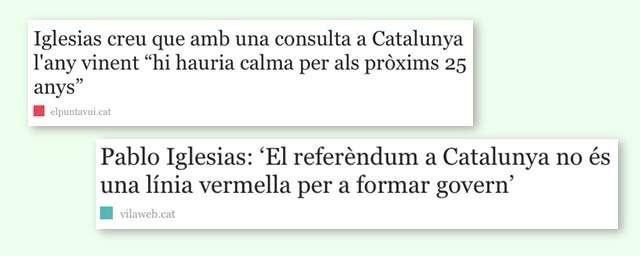 Declaracions Pablo Iglesias