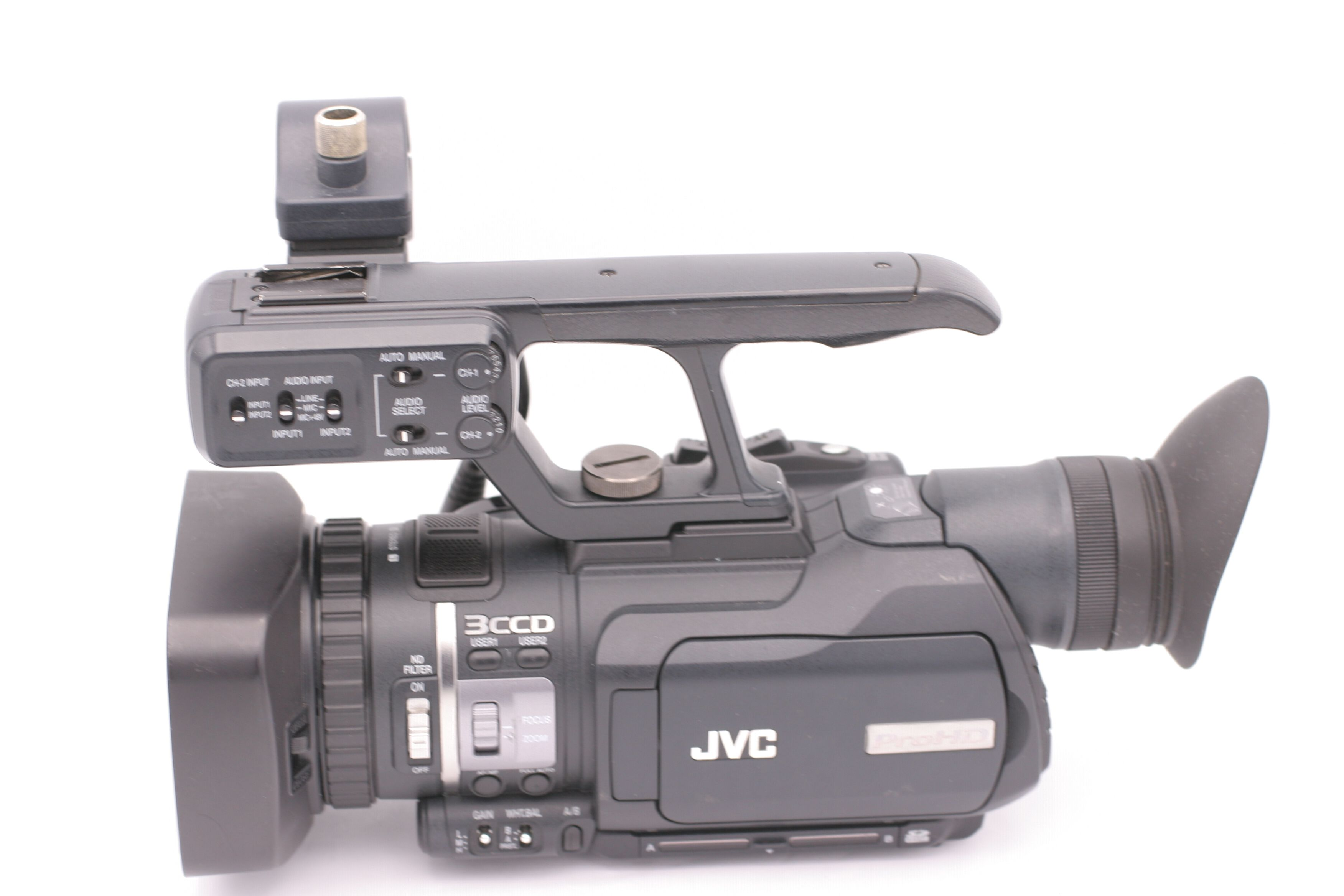 jvc gy hm100u hd 3ccd professional video camcorder 46838039522 ebay rh ebay com JVC GY HM100U Manual jvc gy-hm100u manual
