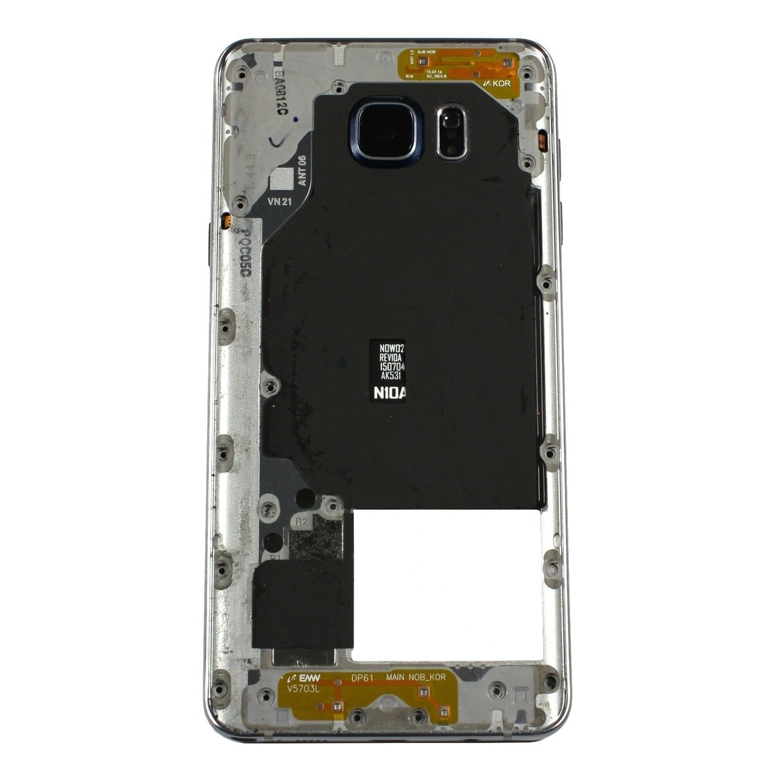 Samsung - 5 N920t About Middle Note Gold Galaxy Frame Details Mid Housing Bezel N920a Chassis