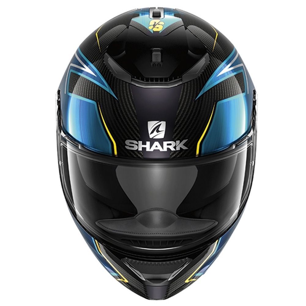 Shark Spartan Carbone Dvs Intégral Sport Casque Moto Guintoli Dby