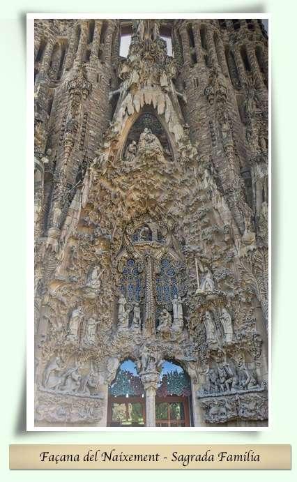 Façana del Naixement - Sagrada Família