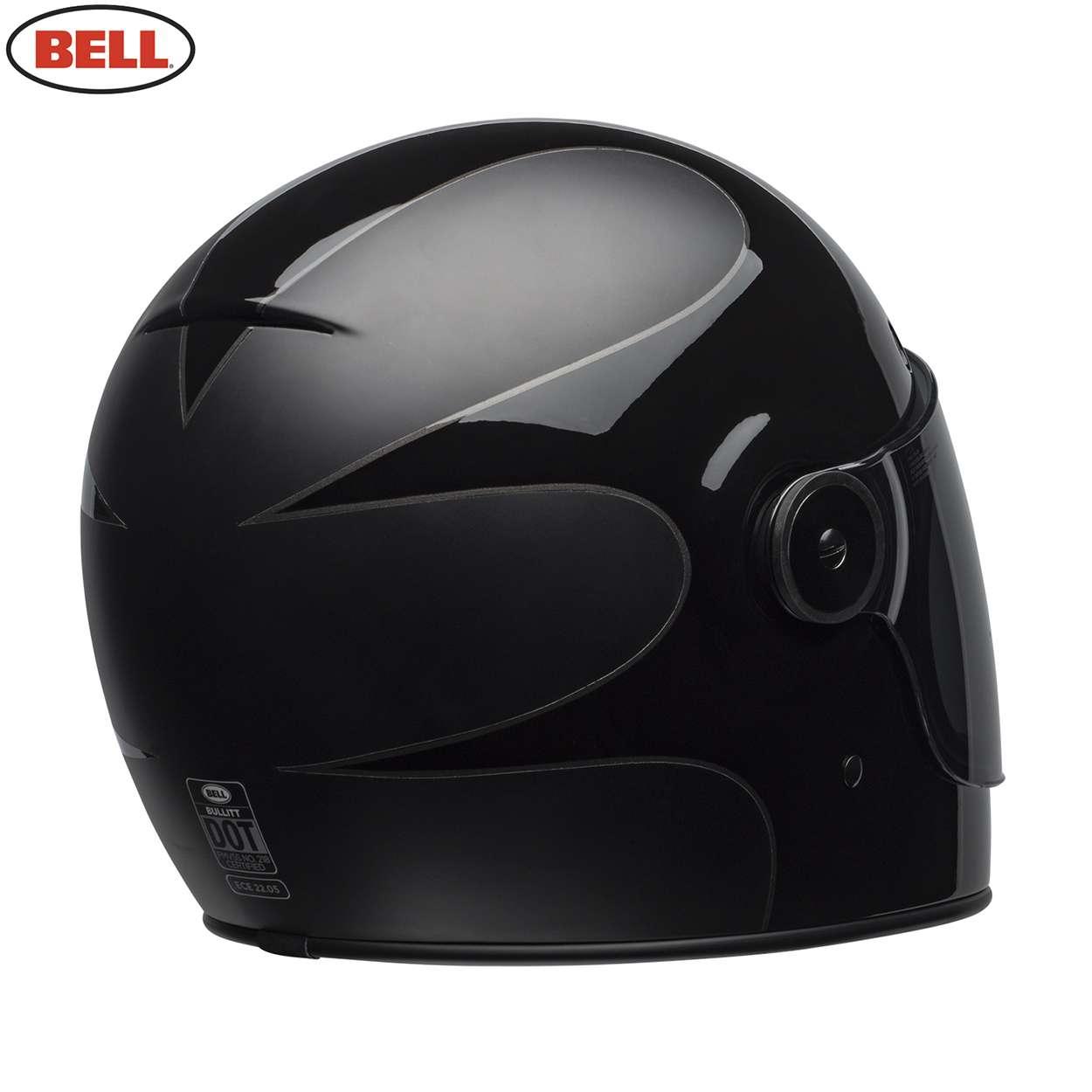 631e6d4550977 Details about Bell Cruiser 2018.2 Bullitt Adult Motorcycle Helmet - Boost  Matte Gloss Black
