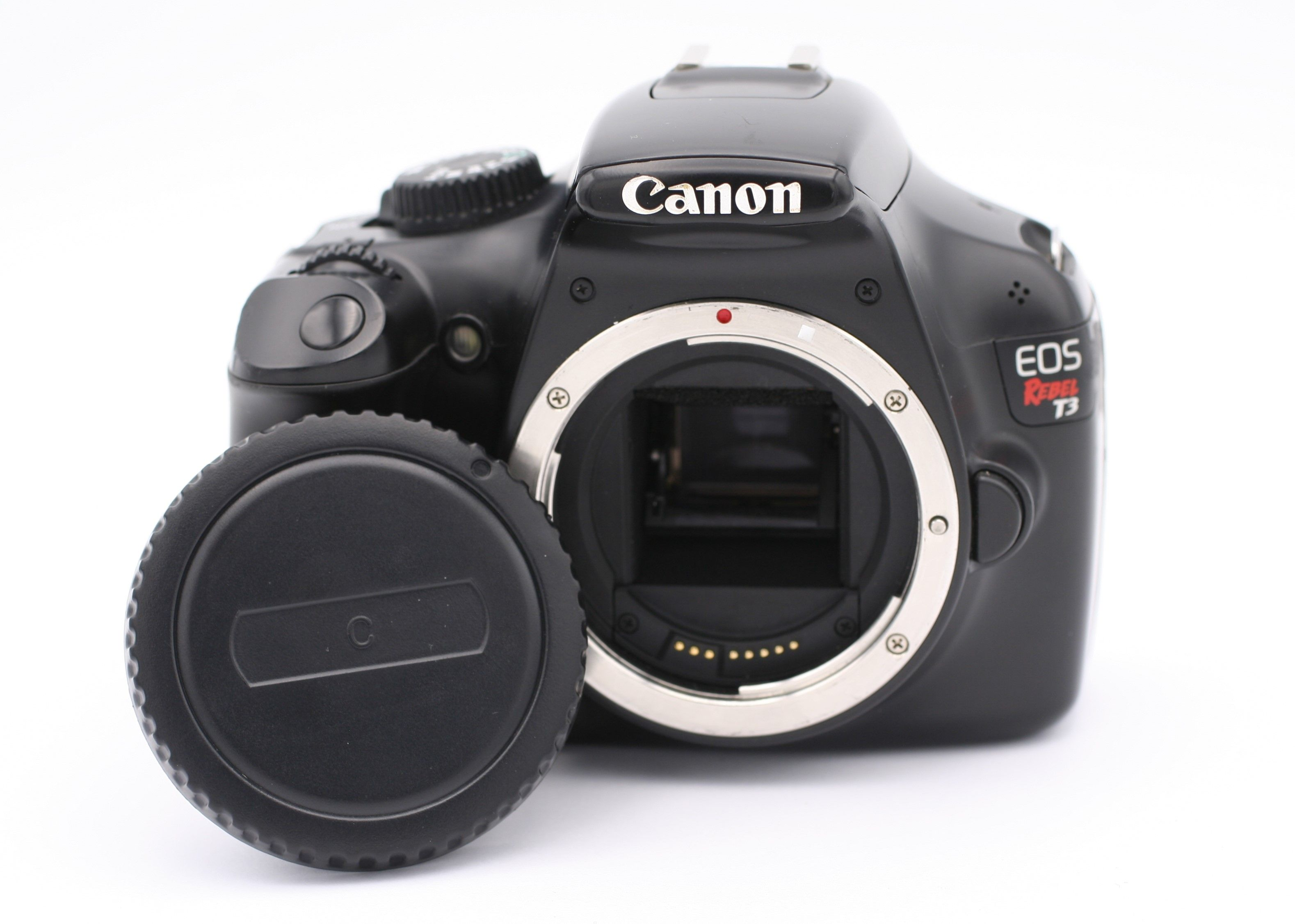 Details about Canon EOS Rebel T3 / 1100D 12 2MP Digital SLR Camera - Black  (Body Only)