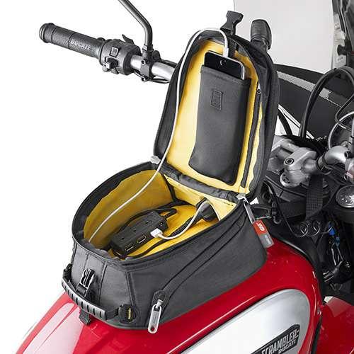 givi mt504 magnet thermo geformt tankrucksack f r motorrad. Black Bedroom Furniture Sets. Home Design Ideas