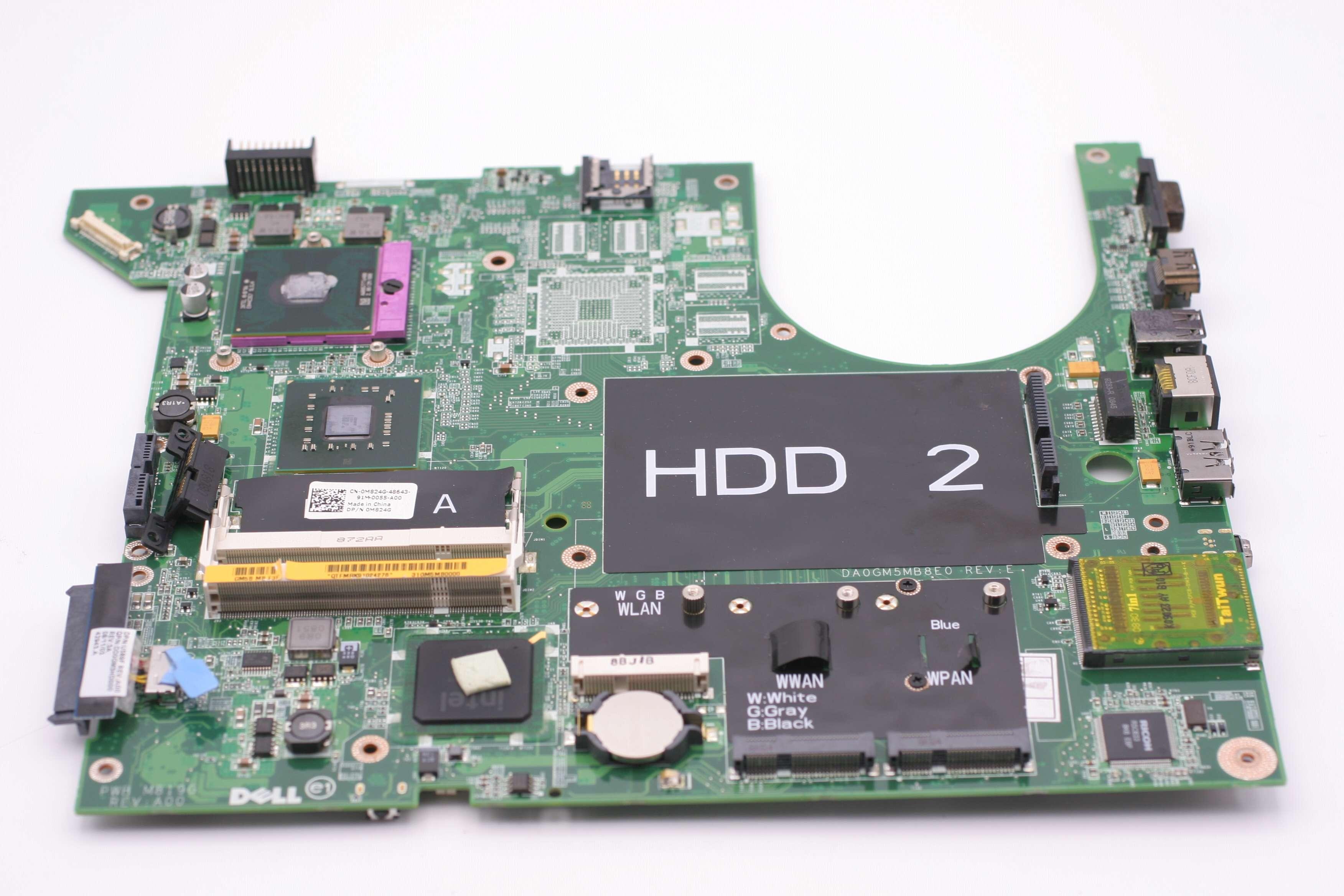 OEM NEW Dell Studio 1737 Laptop Intel System Board Motherboard M824G CN-0M824G