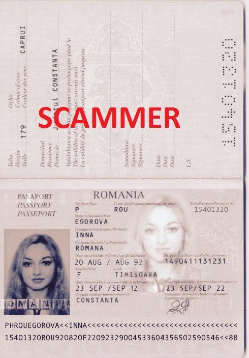 Romanian dating scammers
