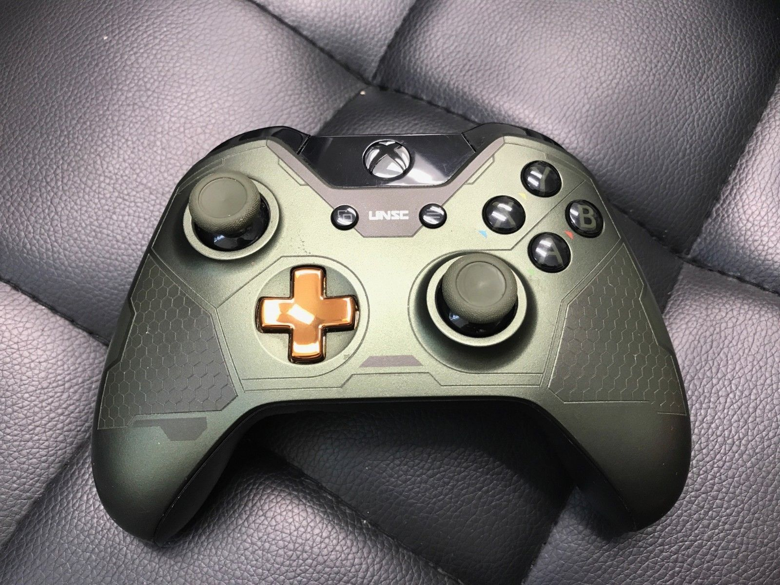 Details About Official Microsoft Xbox One Halo 5 Guardians Master Chief Wireless Controller