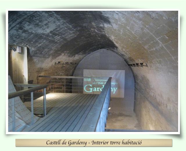 Torre habitació del Castell de Gardeny