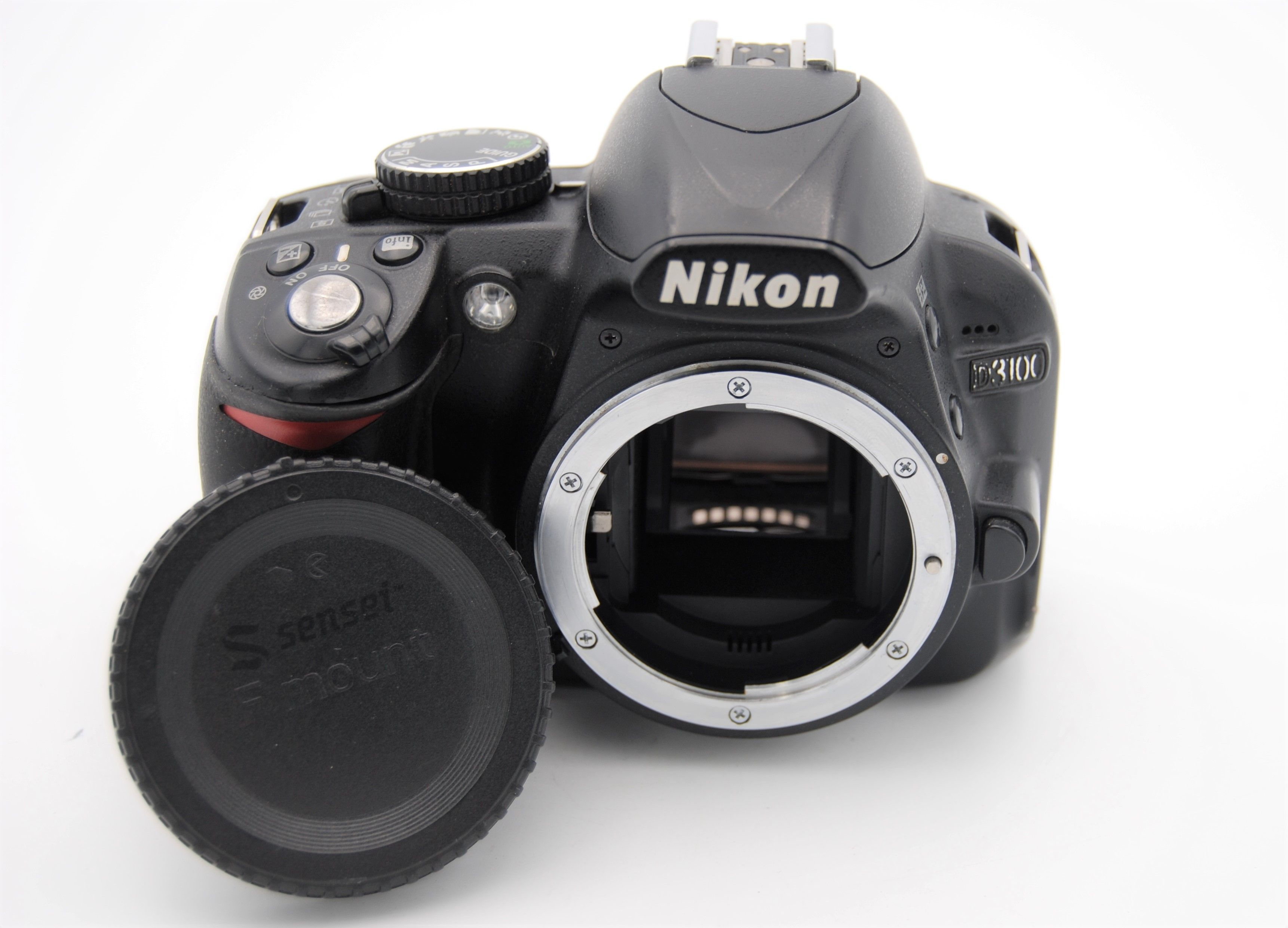 Details about Nikon D3100 14 2 MP 3''Screen DSLR Camera BODY ONLY - SHUTTER  COUNT 3600