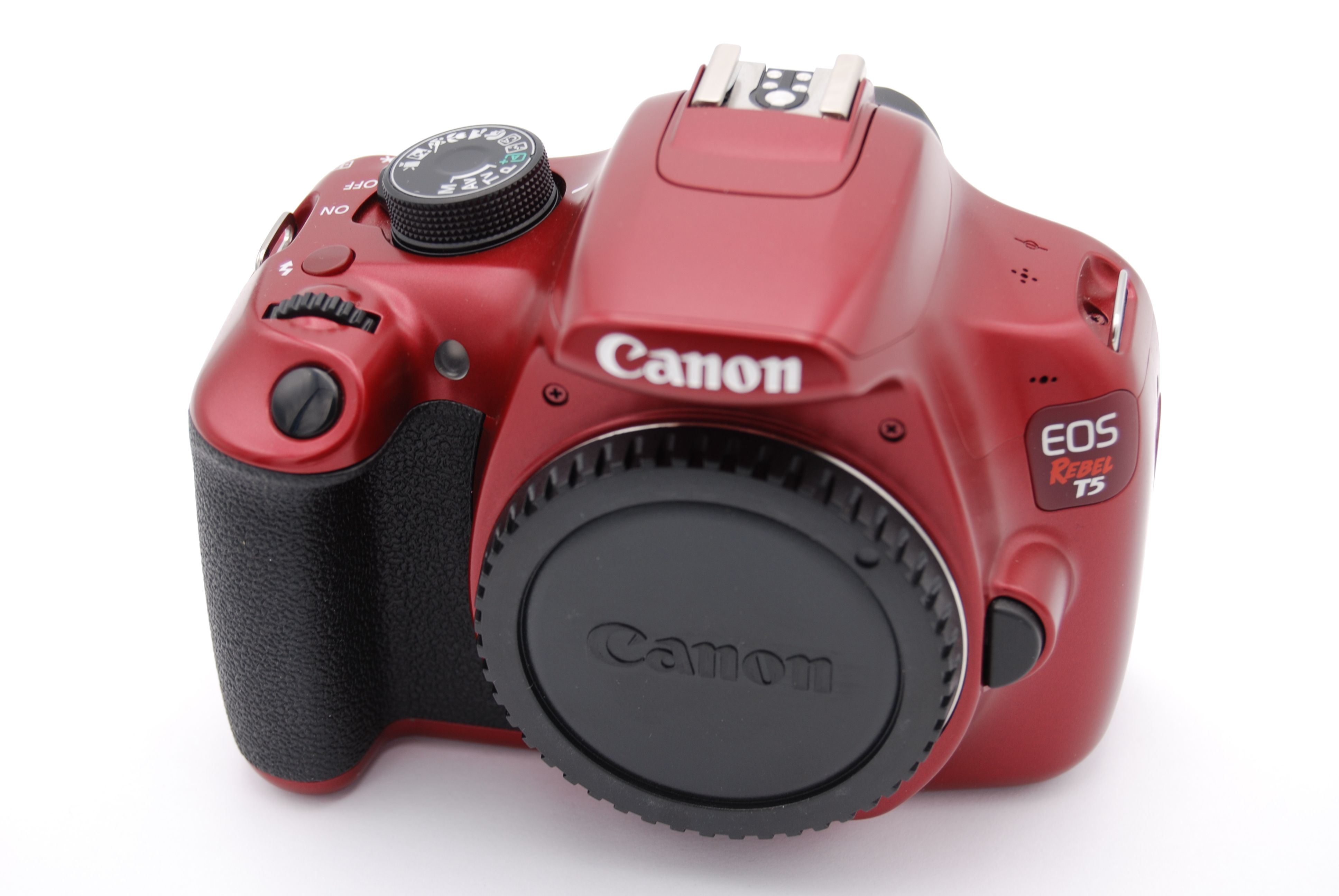 Details About Canon Eos Rebel T5 Eos 1200d 18 0mp Digital Slr Camera Red Body Only