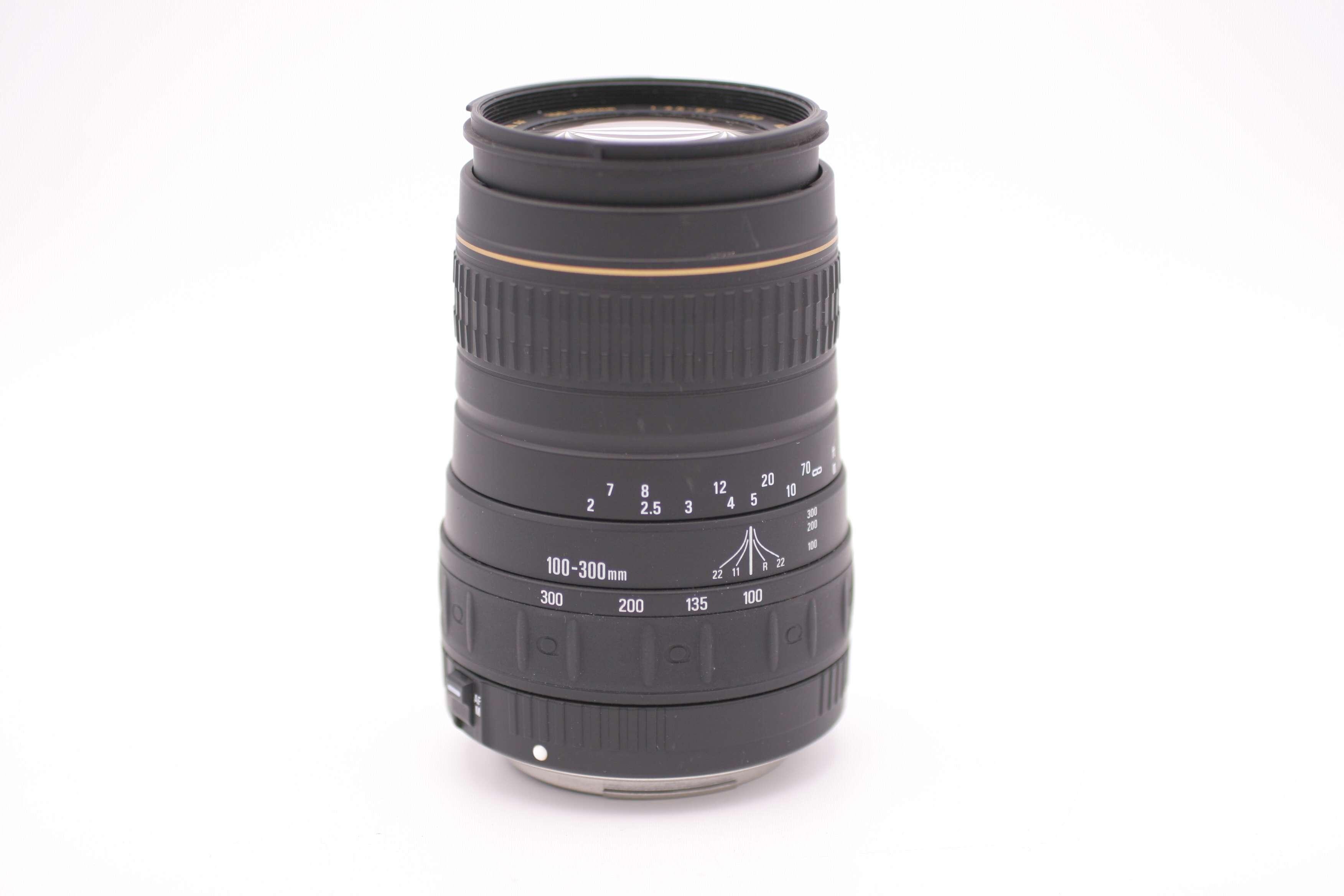 QUANTARAY 100-300mm f//4.5-6.7 LDO FOR NIKON AF