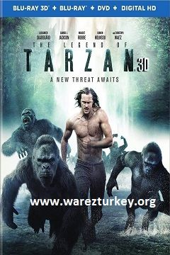 Tarzan Efsanesi - 2016 3D BluRay m1080p Haf-SBS Türkçe Dublaj MKV indir