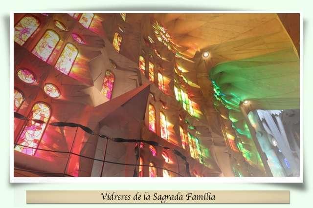 Vidreres de la Sagrada Família