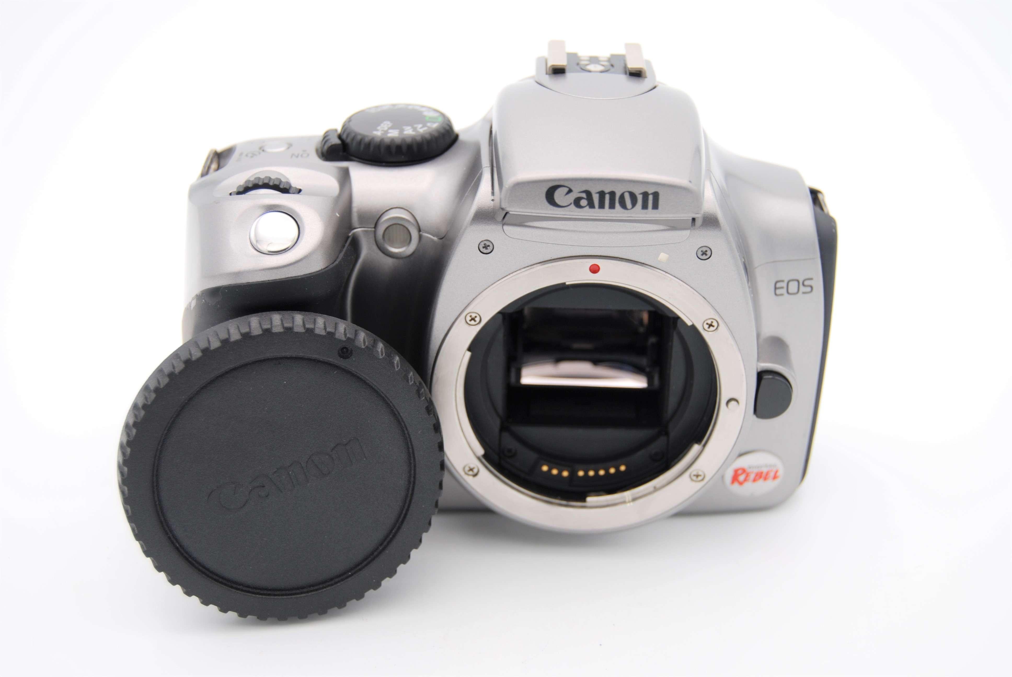 canon eos digital rebel eos 300d 6 3mp digital slr camera silver rh ebay com Canon EOS Rebel Manual PDF Canon EOS Rebel T3 Manual