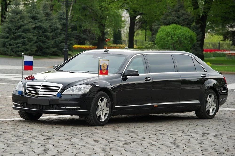 armazing features of n577m armored mercedes-maybach s 600 pullman