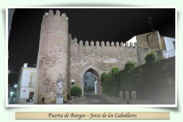 Jerez de los Caballeros - Puerta de Burgos