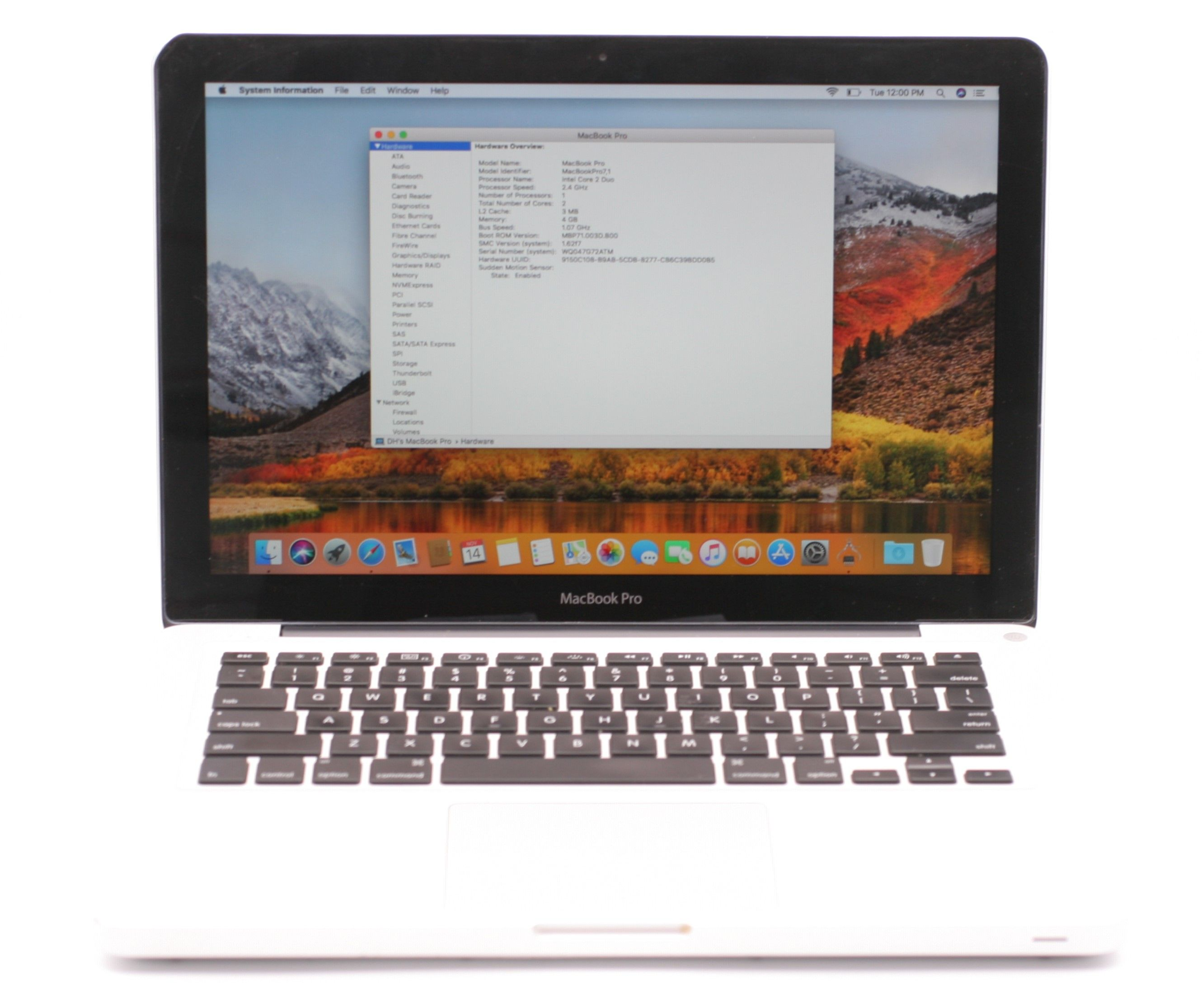 macbook 2.4ghz core 2 duo