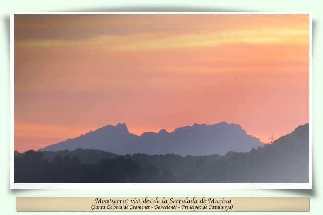 Montserrat al vespre