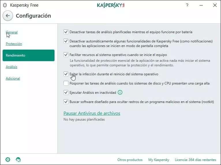 kaspersky-antivirus-free-rendimiento