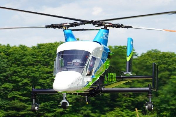 """Amazing Kaman K MAX """"Aerial Truck"""" Cargo Helicopter With Two Crossing Blades   Travel   Nigeria"""