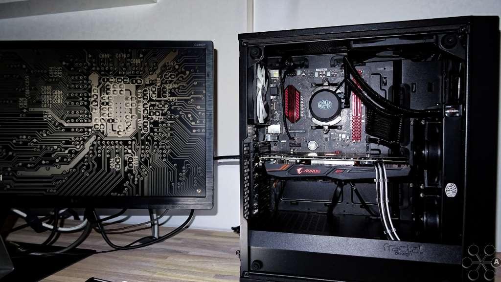 completed build) Meshify C 1500X *QuietBudgetNinja