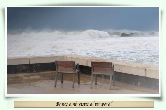 Els bancs del temporal