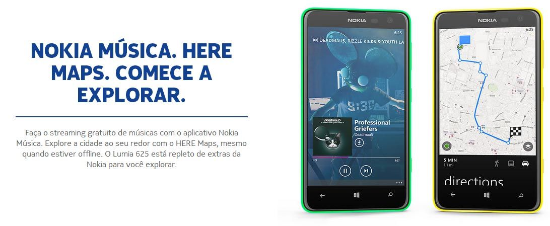 Smartphone Nokia Lumia 625