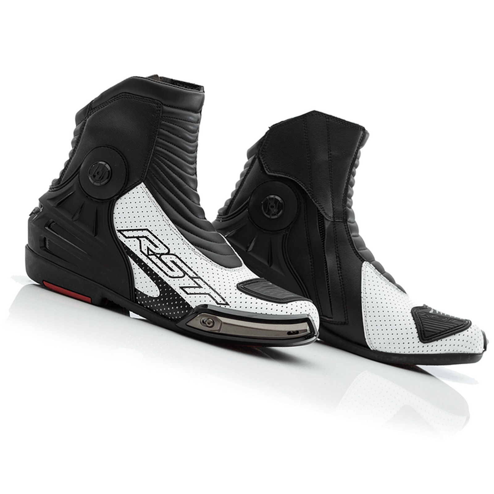 RST Motorcycle Sports Boots Track Tech Evo 2101 Adult Racing CE Approved Armour Motorbike Race Boots