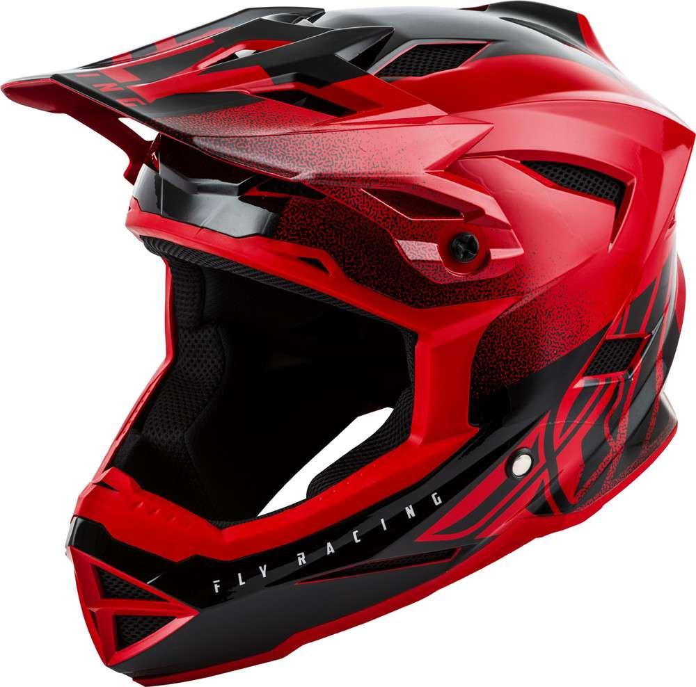Fly 2017 Bike Default MTB Downhill BMX Full Face YOUTH Helmet White Black