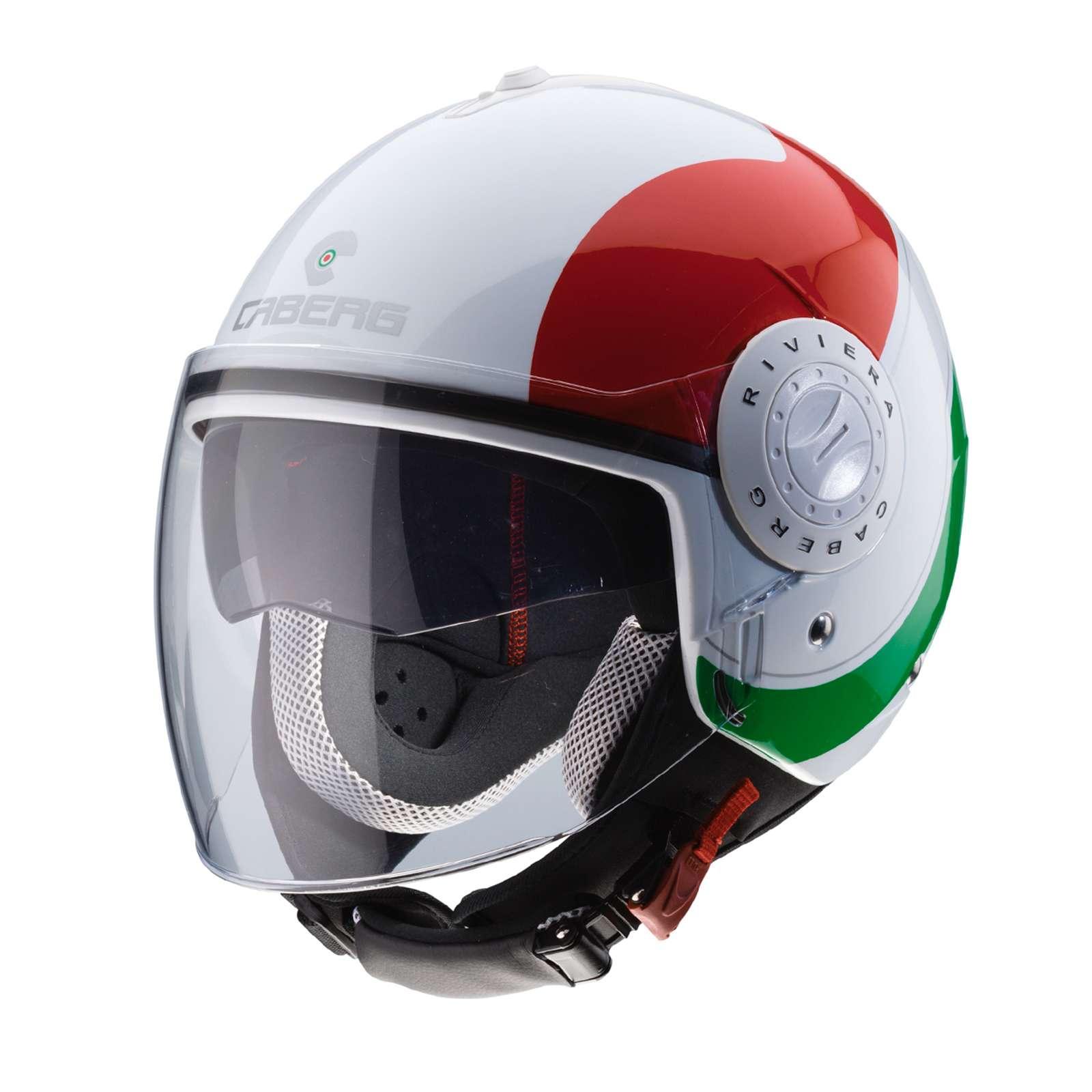 Caberg Ghost Casco De Moto Recambio//Repuesto Pinlock Ready Visor Plata