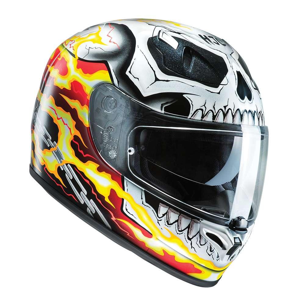 HJC Helmets Casco FG-st Ghost Rider Motocicleta Casco