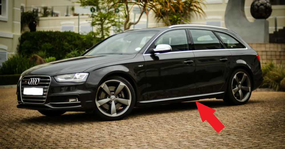 side skirts audi a4 b8 8k 2012 restyling avant spoiler. Black Bedroom Furniture Sets. Home Design Ideas